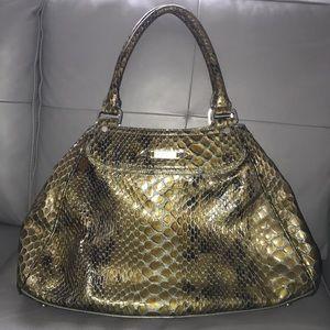 Cole Haan Snake Python Embossed bag